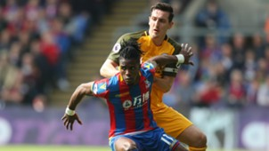 Wilfried Zaha Crystal Palace Premier League Team of the Week