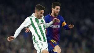Lionel Messi Javi Garcia Barcelona Real Betis