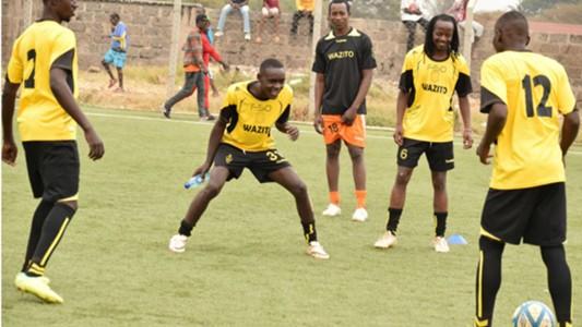 Wazito striker Joseph Waithera