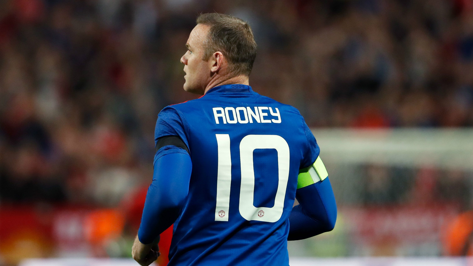 Wayne Rooney Manchester United Europa League