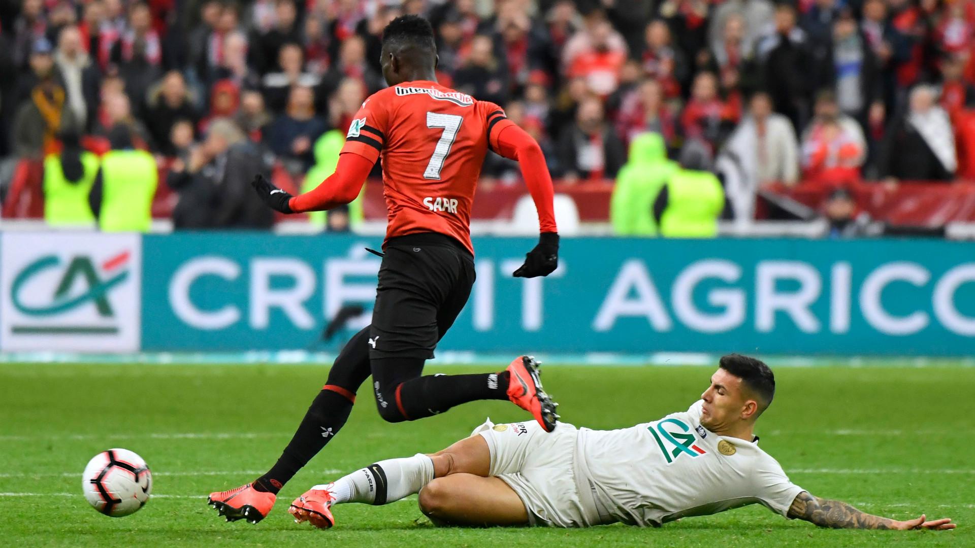 Ismaila Sarr Rennes 2018-19
