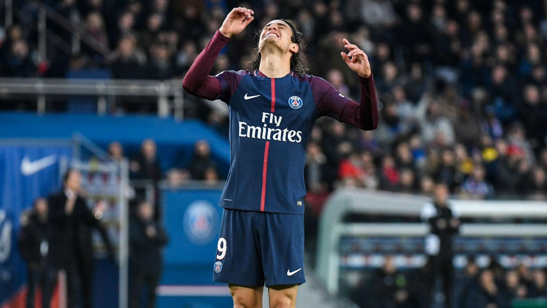 Edinson Cavani PSG Nantes Ligue 1 18112017