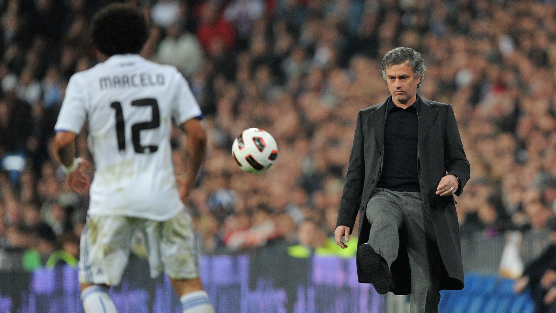 Jose Mourinho Marcelo Real Madrid