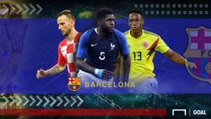 GFXID Cover Rapor Pemain Barcelona di Piala Dunia 2018