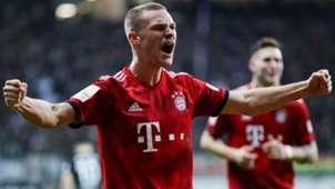 Joshua Kimmich Bayern Munich 2018
