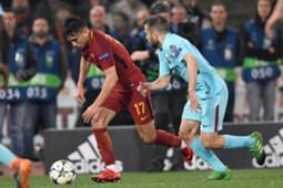 Cengiz Under Jordi Alba Roma Barcelona 04/10/18