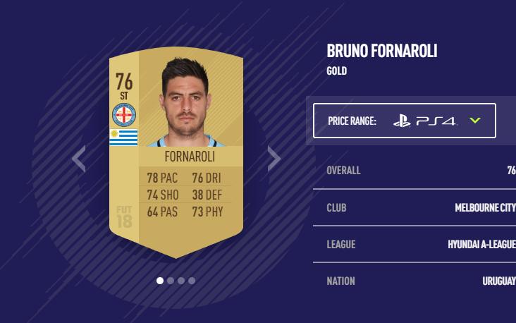 Bruno Fornaroli FIFA 18