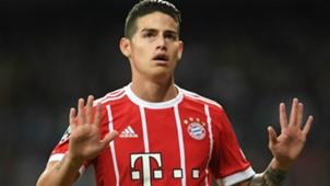 James Rodriguez FC Bayern 01052018
