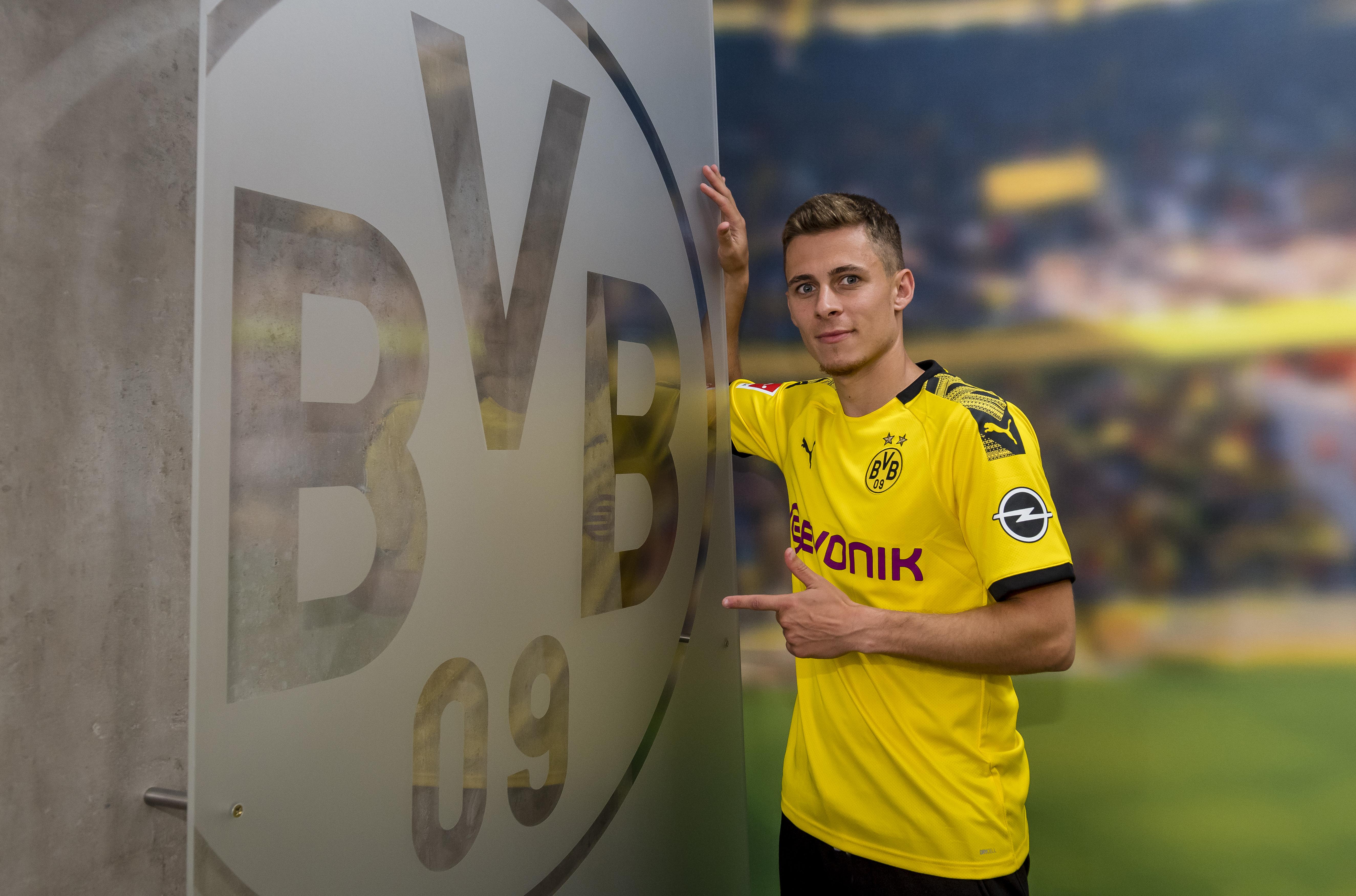 Thoirgan Hazard Borussia Dortmund