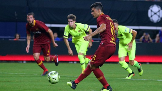 Diego Perotti Roma Barcelona ICC 2018 07312018