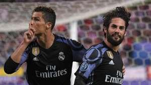 Cristiano Ronaldo Isco Real Madrid