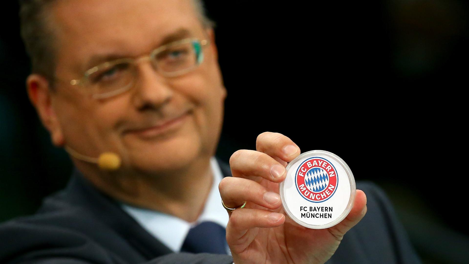 DFB Pokal draw Auslosung FC Bayern