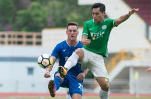 Hong Kong premier league, Tai Po 2:0 won over R&F.