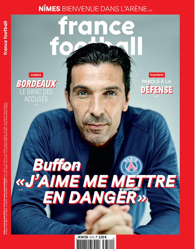PSG, Buffon protagonista: