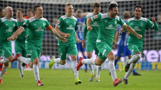In dieser Statistik ist Werder Bremen auf einer Stufe mit Juventus Turin und PSG