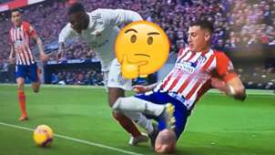 GFX Real Atletico Madrid VAR 10 02 2019