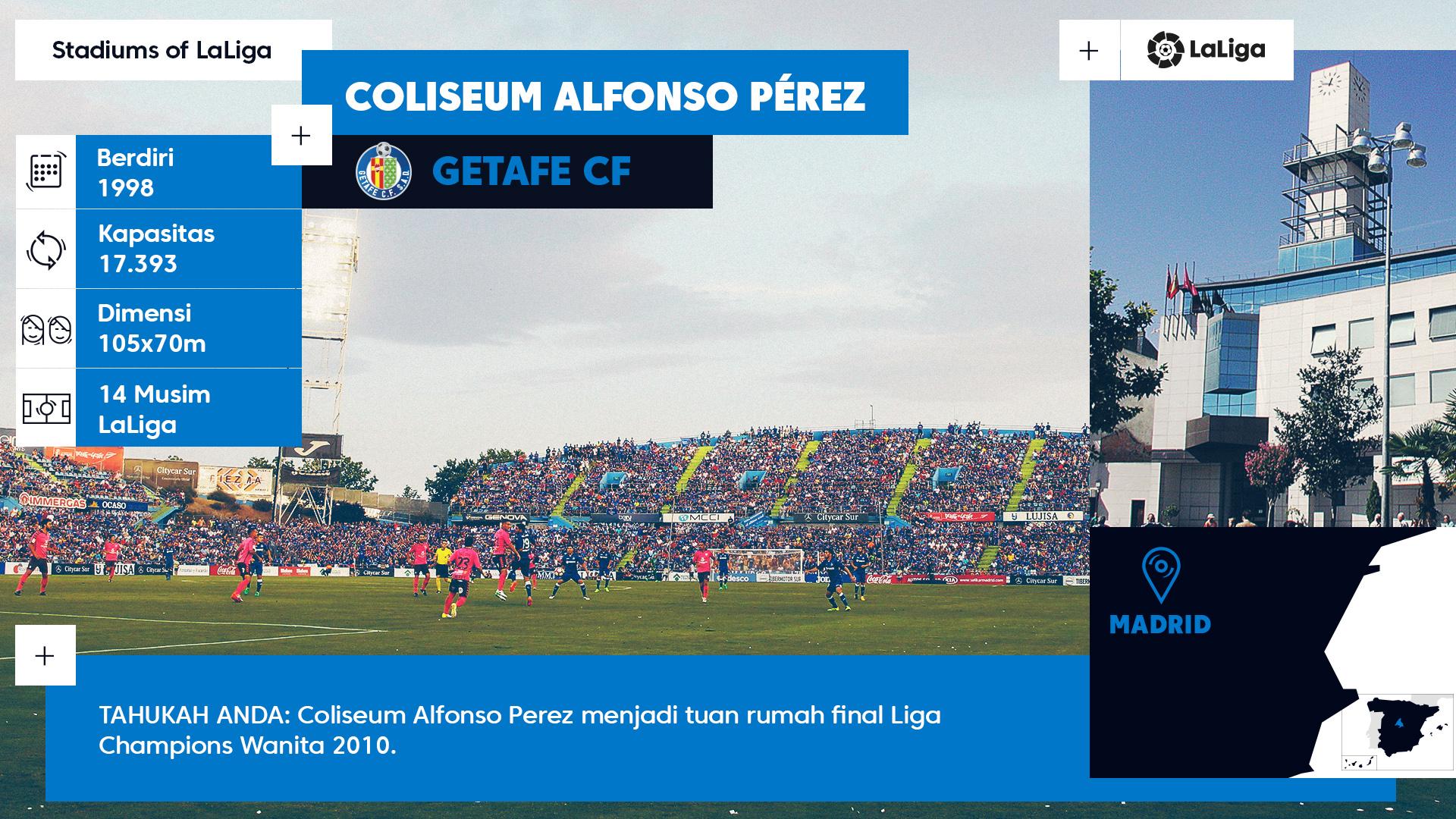 Coliseum Alfonso Perez - La Liga Stadium