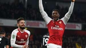 Danny Welbeck Olivier Giroud Arsenal