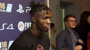 Zaha FIFA 19 launch