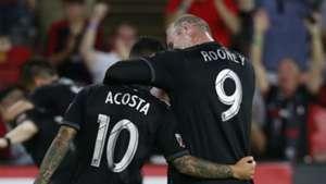 Wayne Rooney Luciano Acosta DC United