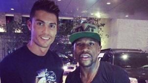 Cristiano Ronaldo Mayweather Instagram