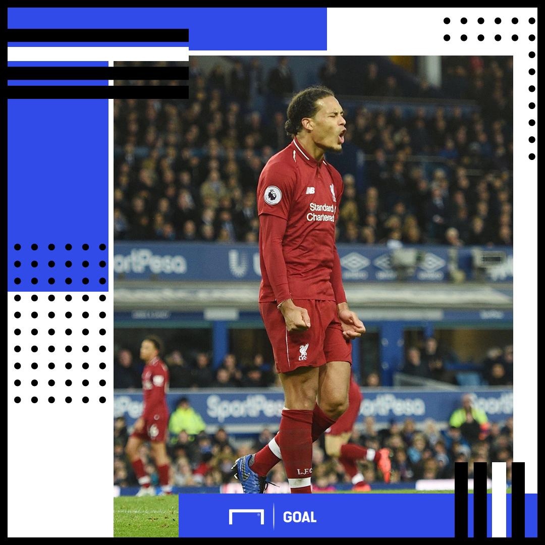 Virgil van Dijk Liverpool PS
