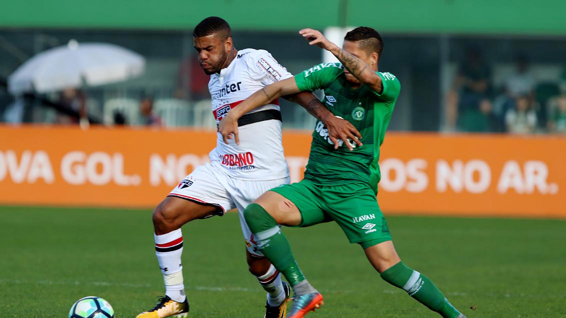 Junior Tavares Chapecoense Sao Paulo Brasileirao Serie A 16072017
