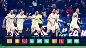 Sevilla Champions League power rankings