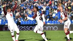 Torino celebrating Sassuolo Torino Serie A