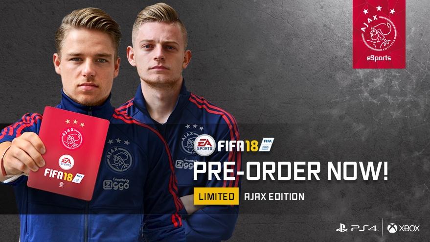 FIFA 18 Ajax version