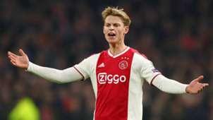 Frenkie de Jong Ajax Real Madrid