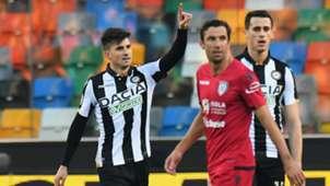 Pussetto Udinese Cagliari Serie A