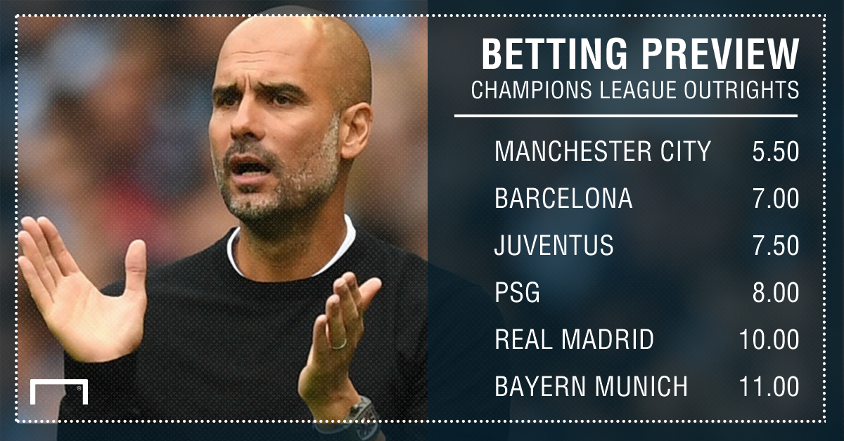 Champions League outrights PS