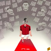 Gonzalo Higuain cartoon