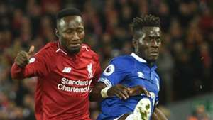 Naby Keita Idrissa Gueye Liverpool Everton