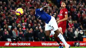 Yerry Mina Everton Liverpool Premier League 2122018