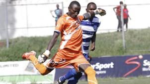 Chemelil Sugar goalkeeper Jairus Adira.