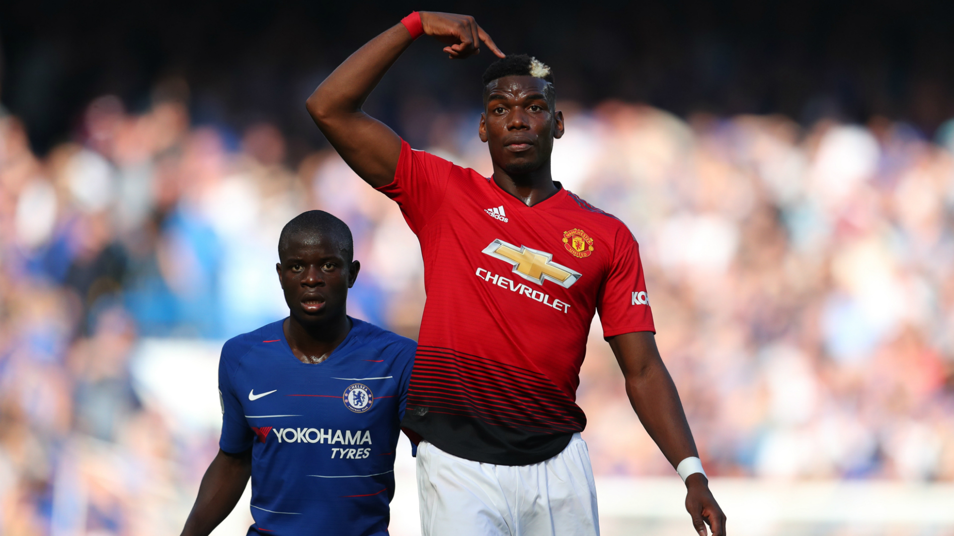 Chelsea Manchester United Paul Pogba