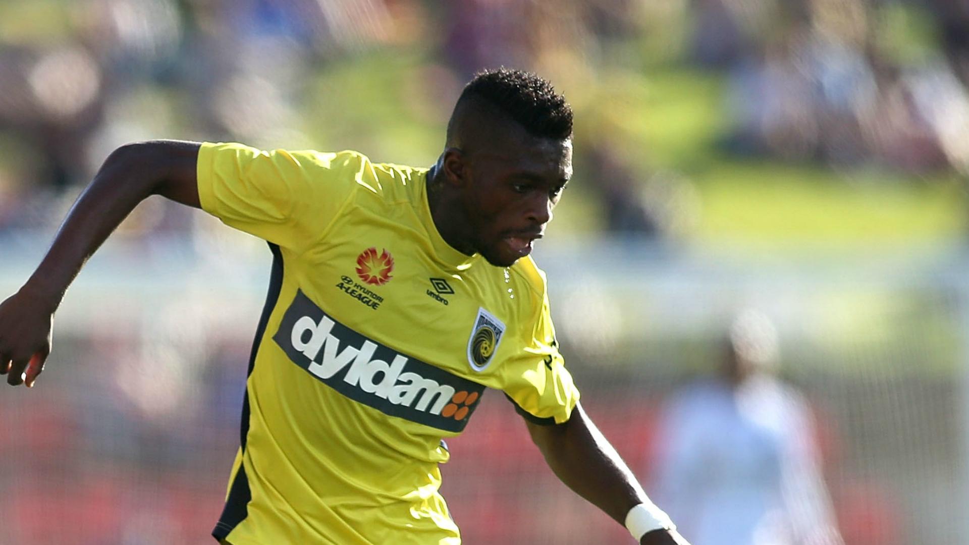 Kwabena Appiah Newcastle Jets v Central Coast Mariners A-League 05032017