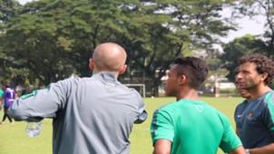 Eduardo Perez, Osvald Haay, Luis Milla