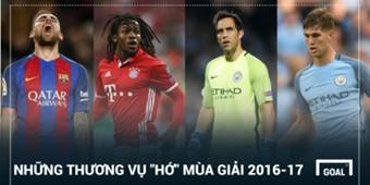 Flop transfer 2016-17