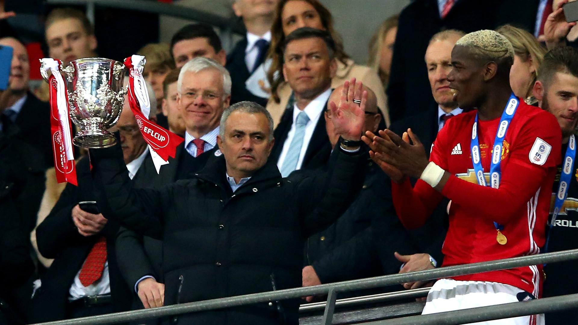 Jose Mourinho EFL Cup Final 02262017