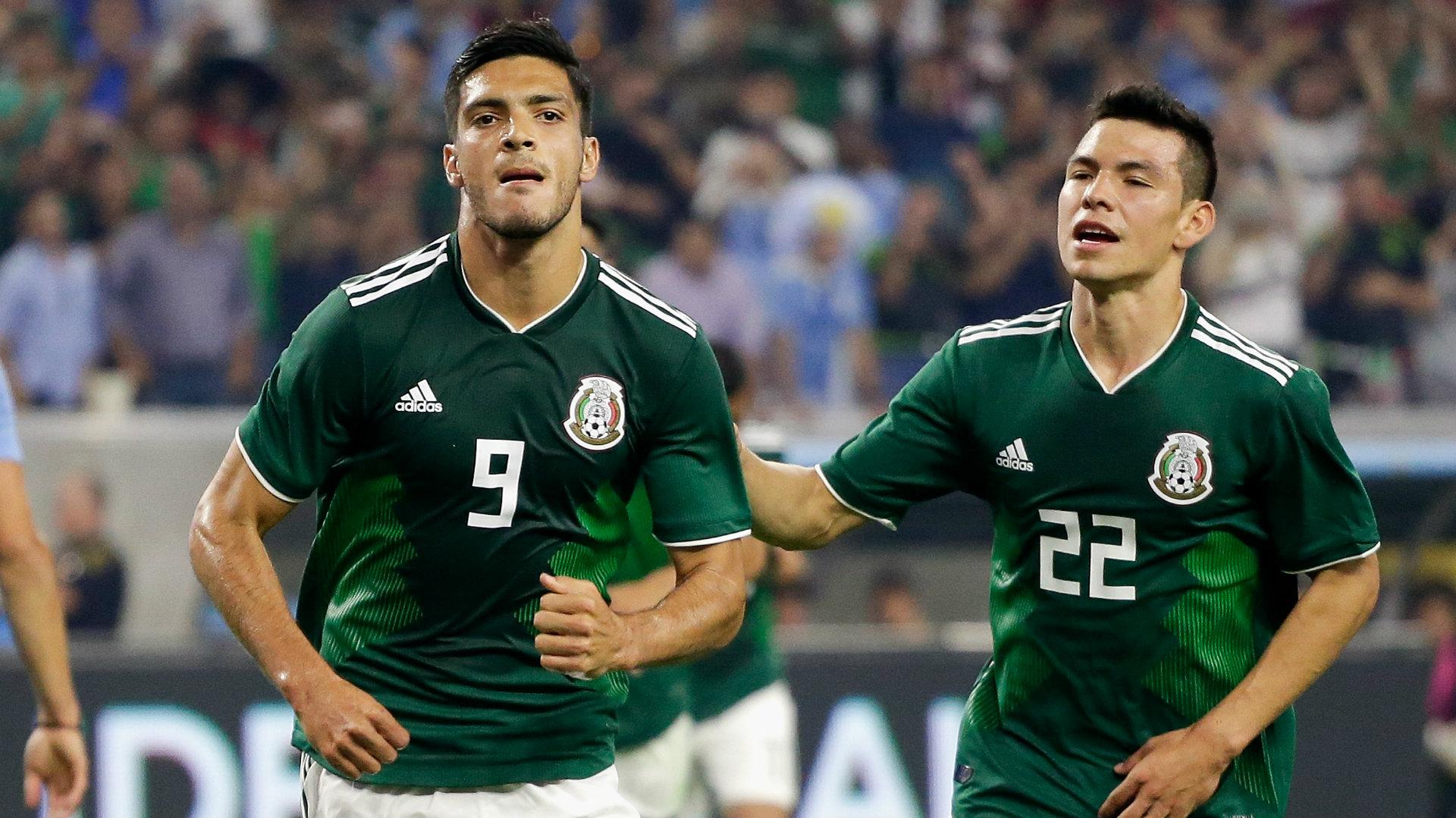 México vs Uruguay Raúl Jiménez