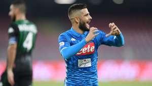 Lorenzo Insigne Napoli Sassuolo Serie A