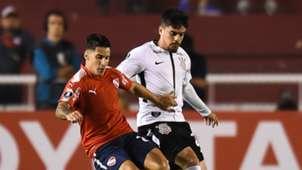 Johnatan Mendez Fagner Independiente Corinthians 18042018 Copa Libertadores