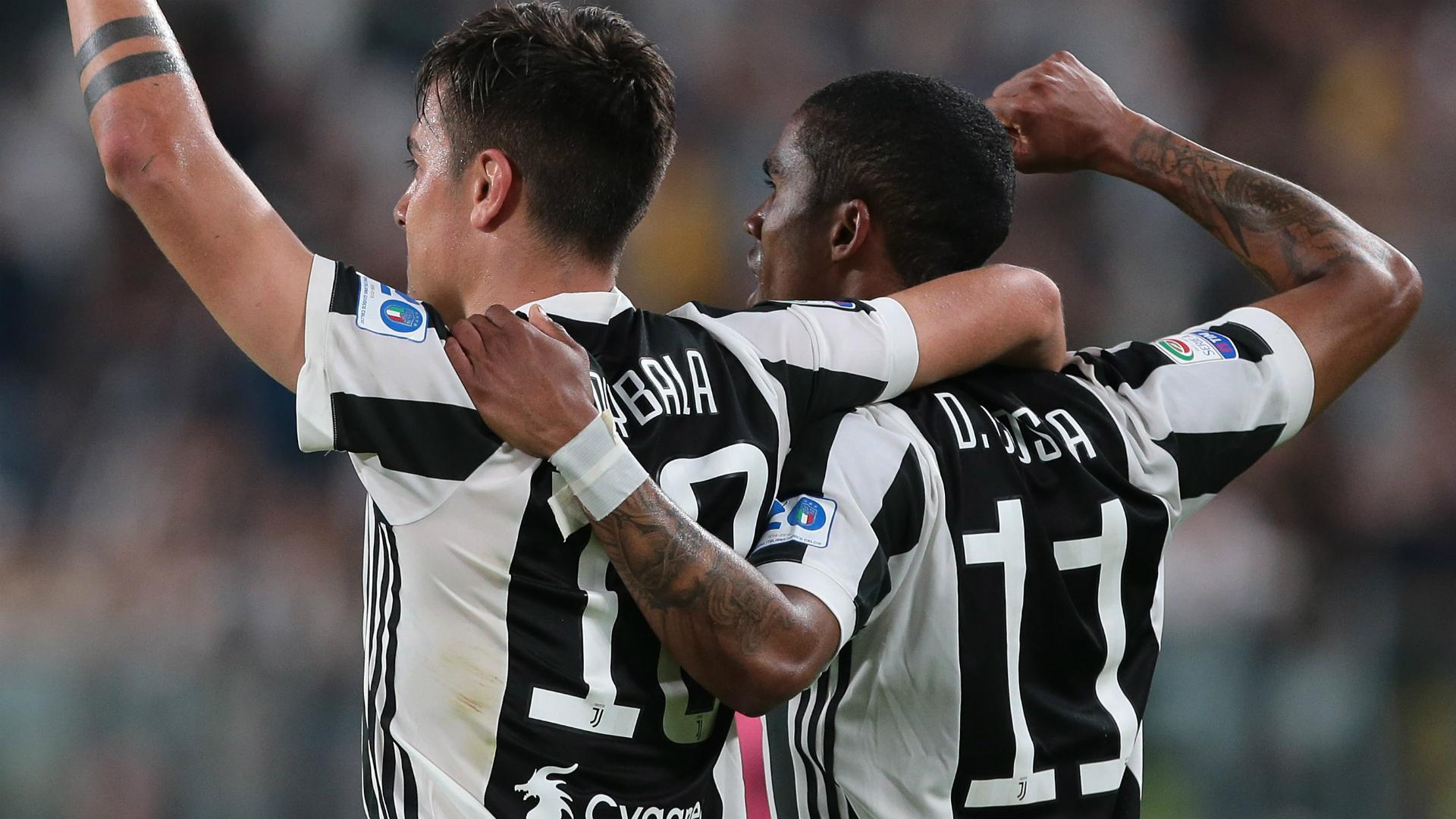 Paulo Dybala Douglas Costa Juventus Bologna Serie A