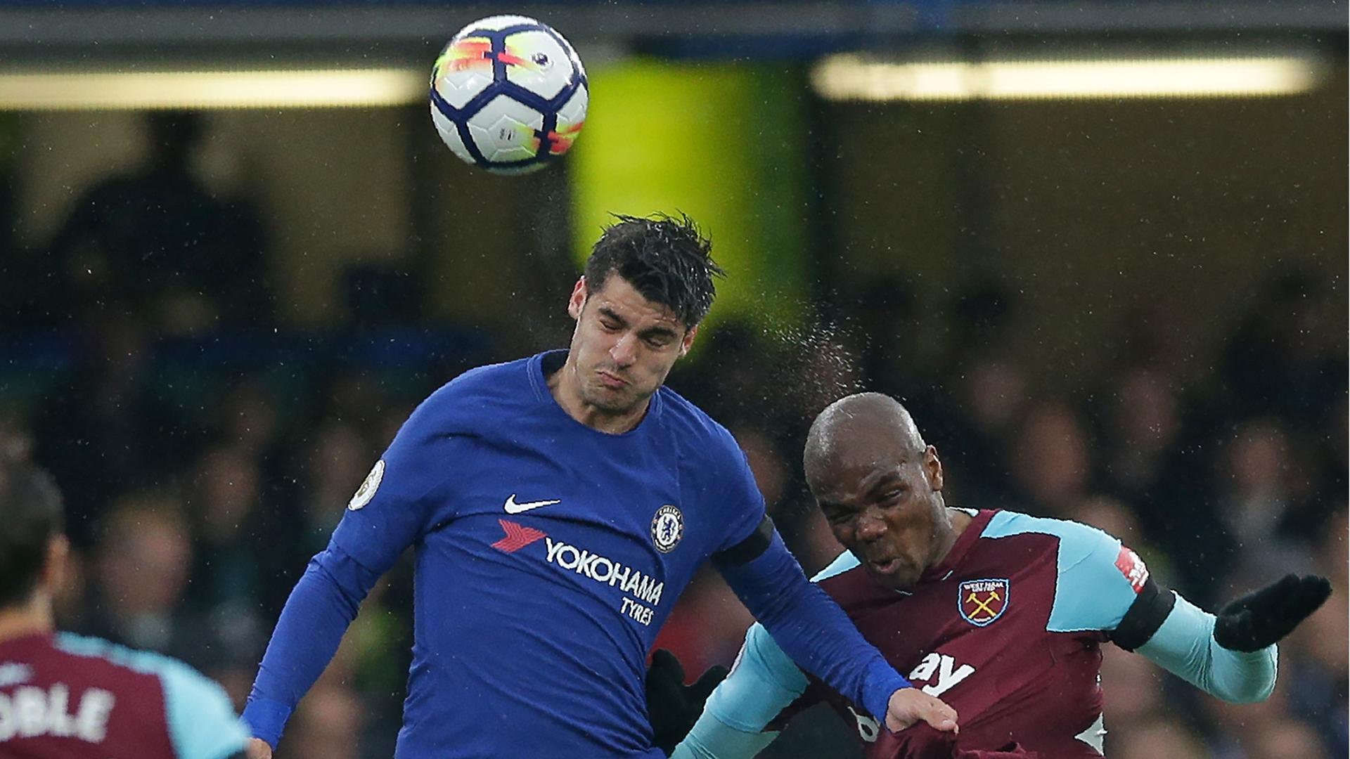 Morata FC Chelsea West Ham 08042018