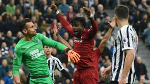 Divock Origi Liverpool Newcastle Premier League 2019