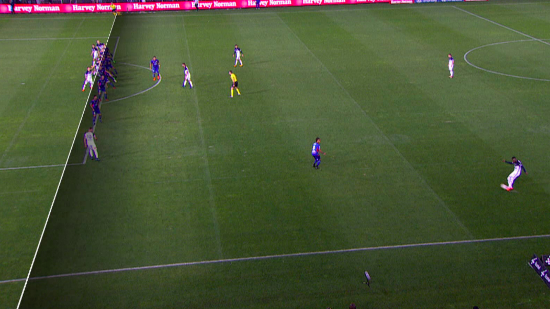 Melbourne Victory offside