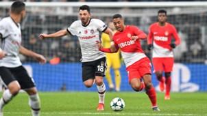 Besiktas Monaco Tielemans Arslan Champions League 01112017